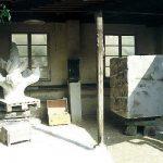 Rekonstruktionsarbeit in Stein