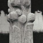 Monumentalpastik Kalkstein Roland Vogel