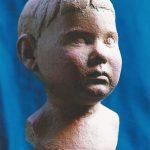 Kinderprotrait in Terrakotta