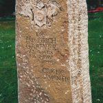Muschelkalkstein Wappen