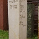 Grabdenkmal-Elbsanstein-Stele