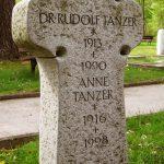 Grabdenkmal-Granit-Kreuzform