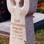 Grabdenkmal-Kalkstein-Stimmgabel
