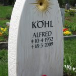Grabdenkmal-Marmor