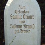 Grabdenkmal-Marmor-Spitzbogen