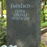 Grabdenkmal-Migmatit-dunkelgrün