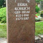 Grabdenkmal-Migmatit-rötlich