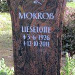 Grabdenkmal-Migmatit-rötlich-Fächerform