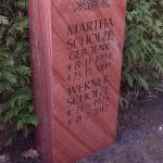Grabdenkmal-Quarzit-rot