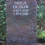 Grabdenkmal-Rundbogen-Migmatit-violettblau
