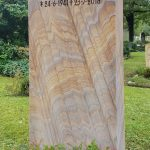 Grabdenkmal-Sandstein-Rainbow
