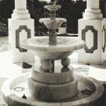 Brunnen Marmor Teehaus
