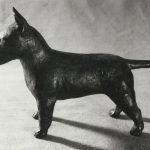 Bullterrier-Bronzeguß-Roland-Vogel