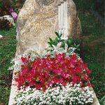 Grabdenkmal für einen Organist