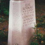Grabmal-Sandstein