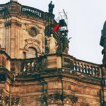 Hofkirche Dresden Heiligenstatue