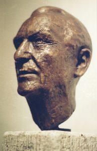 Portrait-Bronzeguss-von-Roland-Vogel