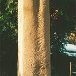 """Stele """"Tröstung"""" von Roland Vogel"""