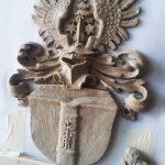 Wappen Tonmodell