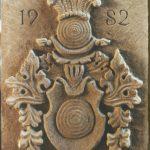 Wappen-Sandstein