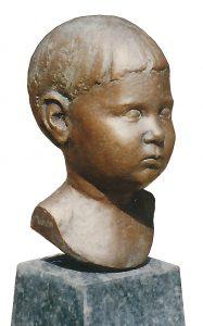 Portrait-Bronzeguss-Elmar-Vogel
