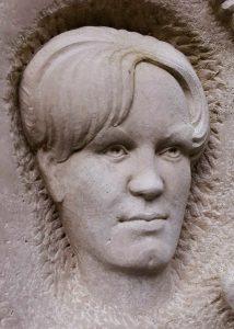 Portrait-Kalkstein